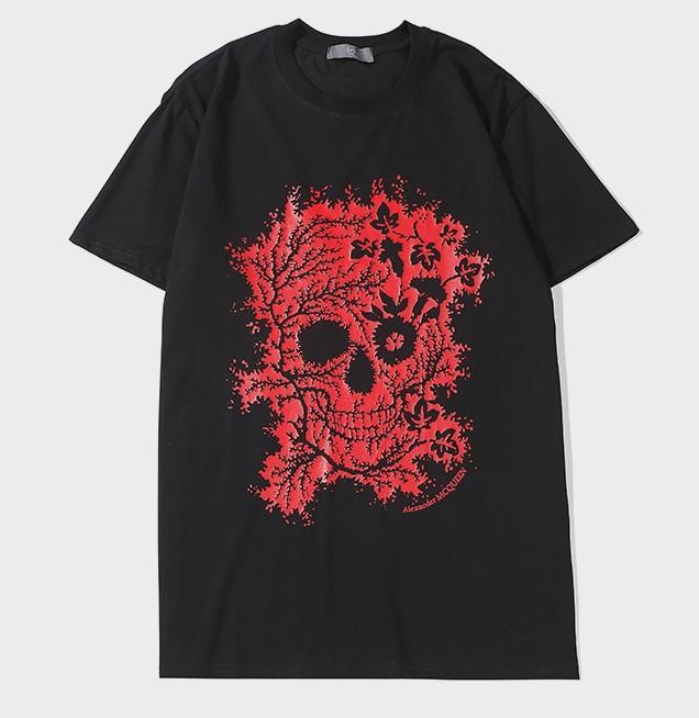 Nuevo envío libre Luxurymen Designertshirts verano camiseta de la grúa de impresión Designertshirt Hip Hop Moda Hombres Mujeres camisetas de manga corta 2030204Q