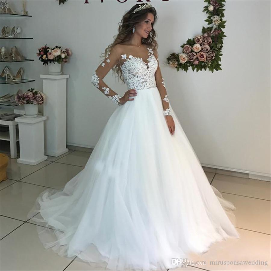 Long Sleeve Wedding Dresses Lace