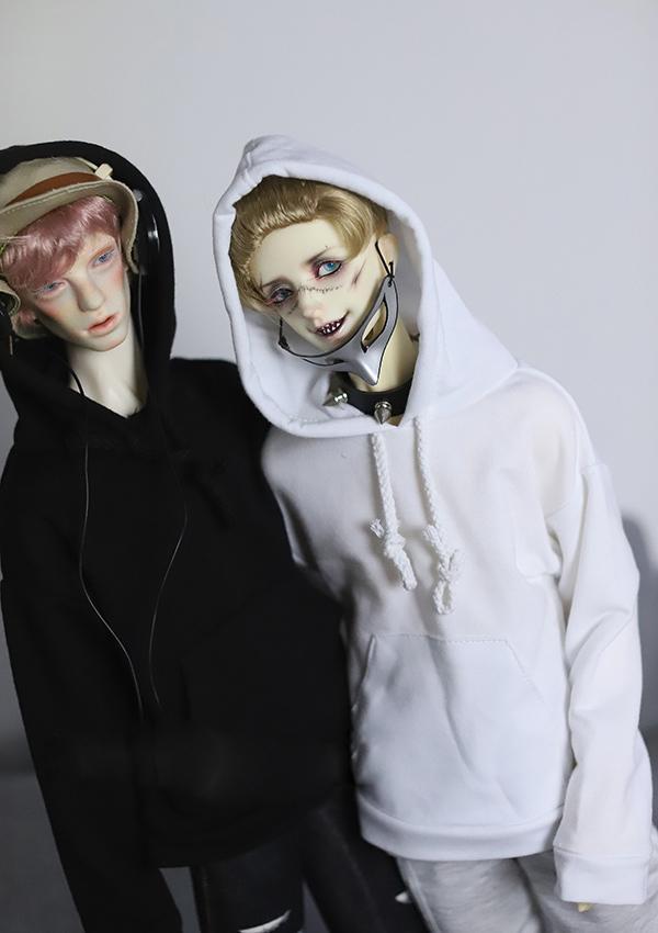 Puppenkleidung Kapuzenmantel Jacke Freizeitkleidung für 1//3 Männliche BJD Puppe