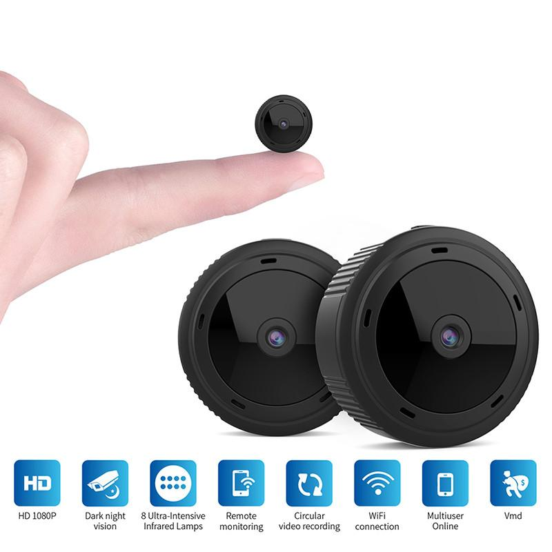 Ev Güvenlik MİNİ IP Kamera WIFI 1080P Kablosuz Küçük CCTV Kızılötesi Gece Görüş Hareket Algılama