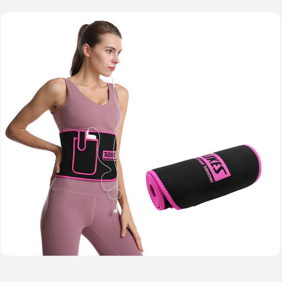 Entraîneur ceinture de ceinture avec des femmes sangle de modélisation de poche bustier corselet corset minceur taille cincher ceinture conformateur ventre abdomen de LJJA4000