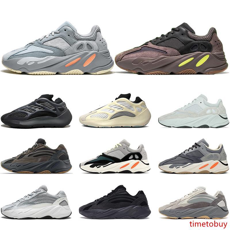 Üst 700 V2 Dalga Runner Atalet Koşu Ayakkabı 700s V3 Alvah Azael Vanta Tephra Erkekler Kadınlar Spor Sneakers Boyut 5-11 İnternet Üzerinden Satış