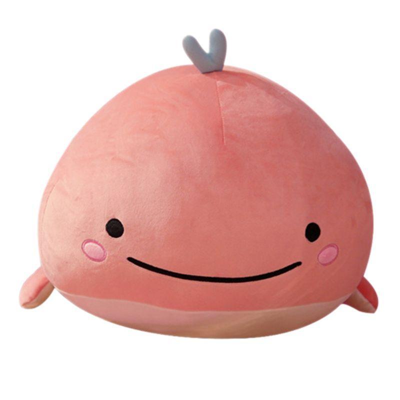 Schöne Puppe Kissen-Plüsch-Spielzeug nette Wal-Form-Puppen-Jungen-Mädchen-Geburtstags-Geschenke G99C