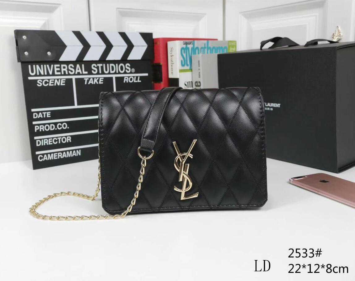 2020 del sacchetto delle donne dei sacchetti di cuoio delle donne modo di alta qualità borsa a tracolla trapuntata doppio borse catena borsa Portafoglio dorp spedizione A43