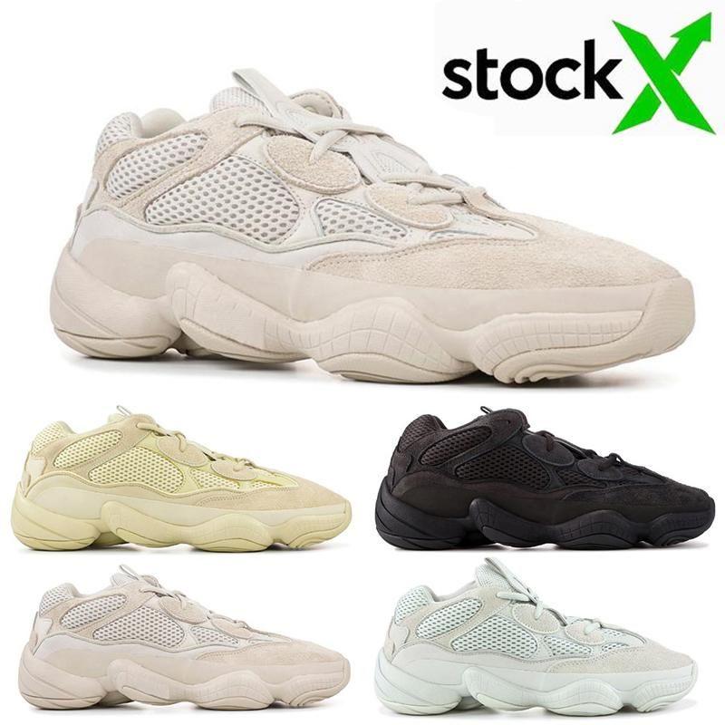 Cheap óssea White Stone 500 Sal corredor da onda Blush Desert Rat 500s Super Lua amarela Running Shoes ssYEzZYYEzZYs v2 350impulso
