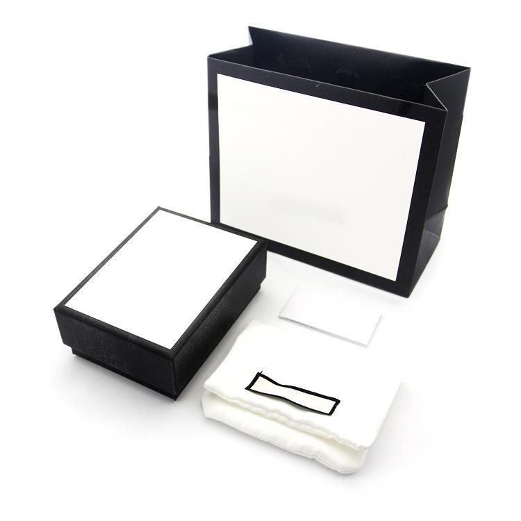 보석 세트 G letter 목걸이 팔찌 귀걸이 링 링 세트 상자 먼지 가방 선물 가방 (상점 항목 판매 일치, 개인 판매되지 않음) G1