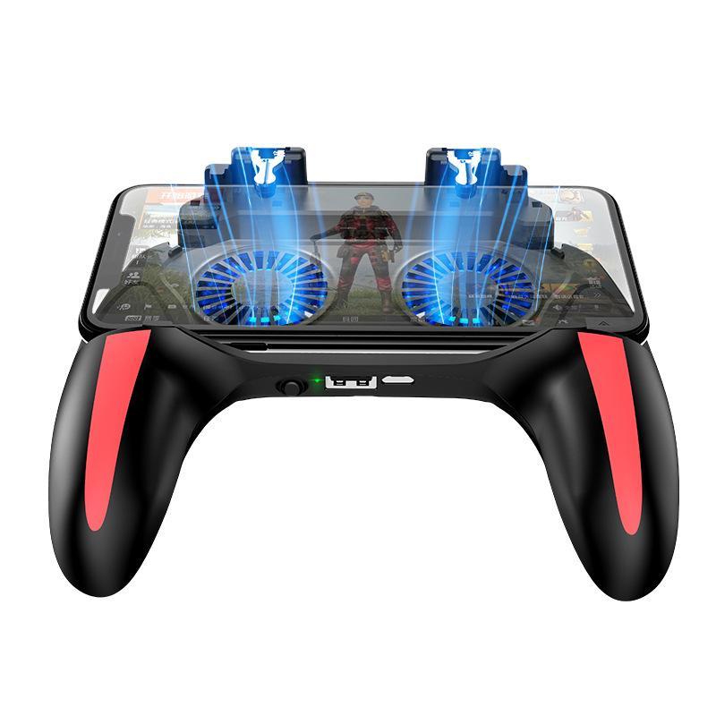 이 증발 열 게임 컨트롤러는 전원 은행 게임 핸들 하나 브래킷 그립에 유물 버튼을 사 먹는 닭을 냉각 듀얼 팬을 H10