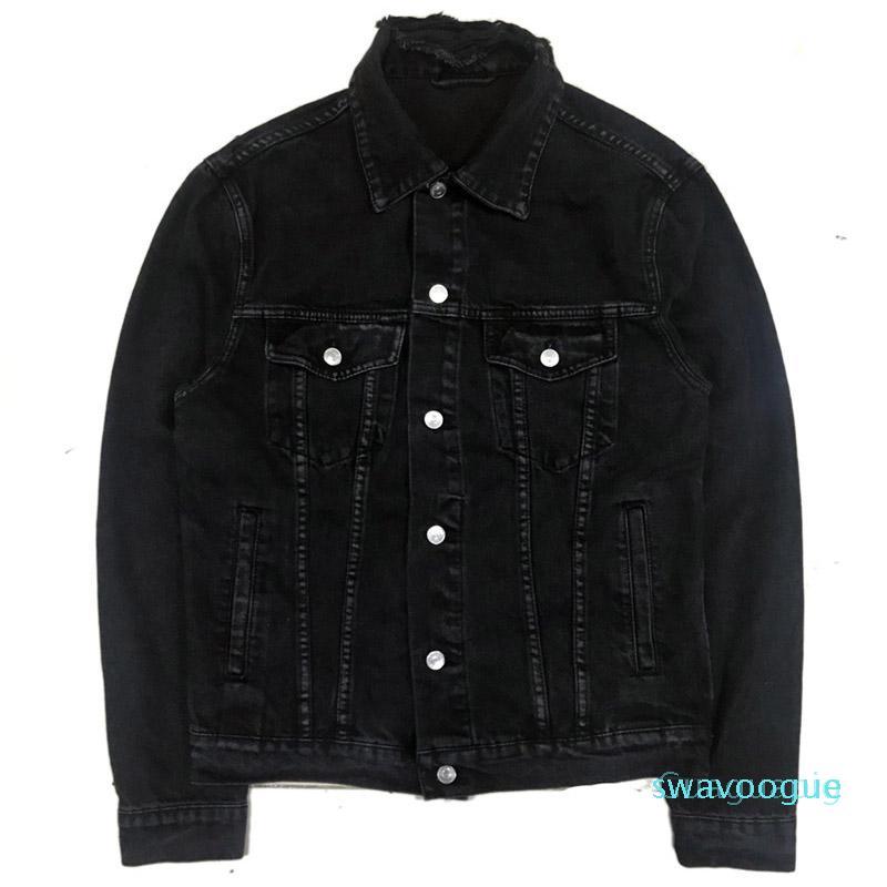 Конструктор куртка мужских курток женщин джинсовой Hip Hop Уличный Топ Quailty Outerwears пальто зима B10
