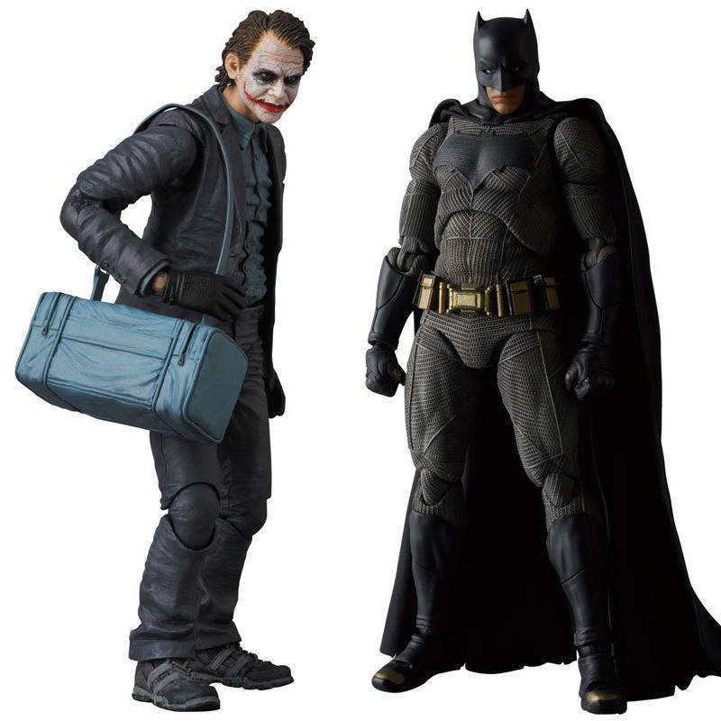 MAFEX NO.015 017 Batman Karanlık Gece Joker PVC Action Figure Koleksiyon Model Oyuncak 15cm