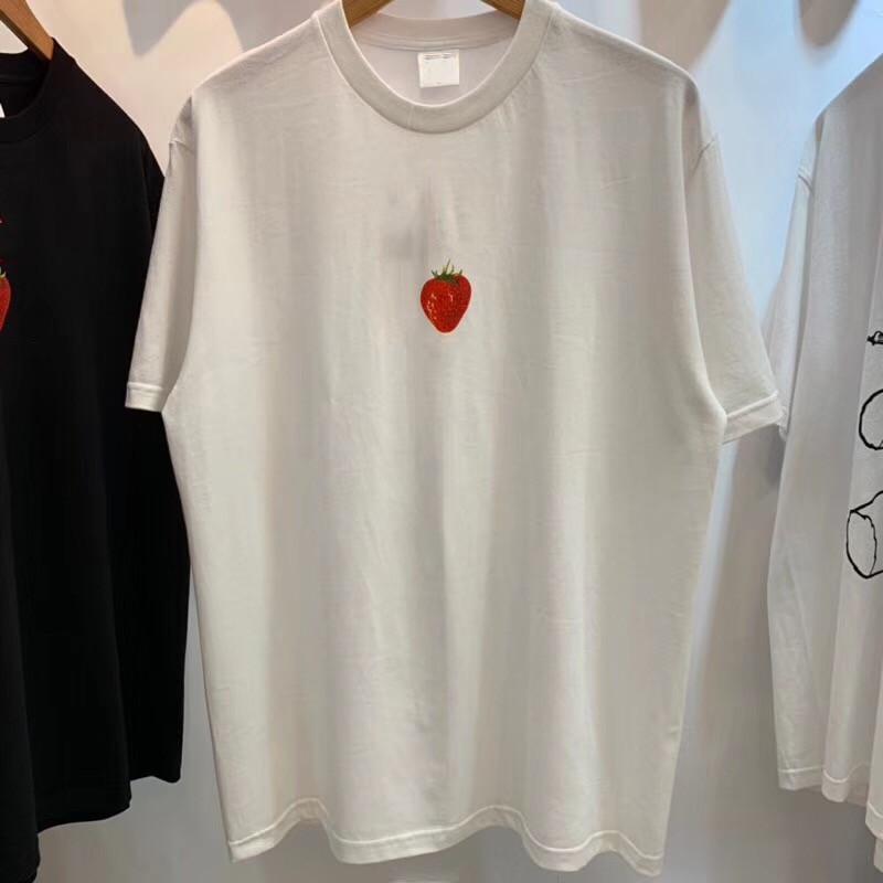16ss Berry Tee Мужчины Женщины 1:1 лучшее качество футболки