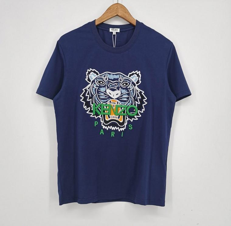 Yeni Moda Marka Erkek Tasarımcısı Tişörtler Kız Tişört Kısa Kollu Gömlek Tiger Mektupları Kadın Yaz Tees Üst Kalite zx 2031802V