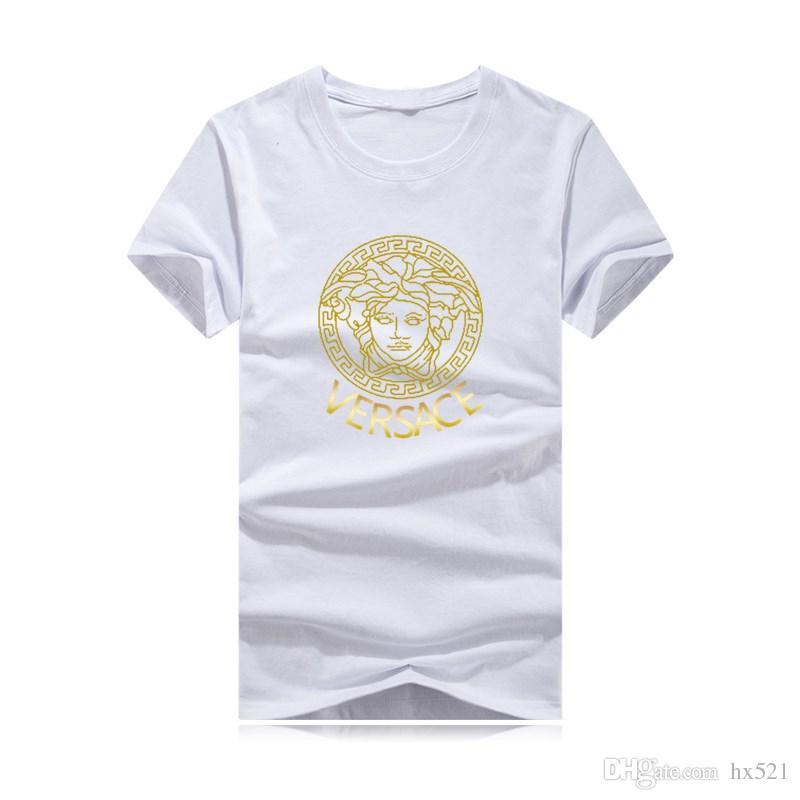 2019 летняя мода мужская футболка повседневная лоскутное с коротким рукавом футболка мужская одежда тенденция повседневная Slim Fit хип-хоп топ тис 4XL