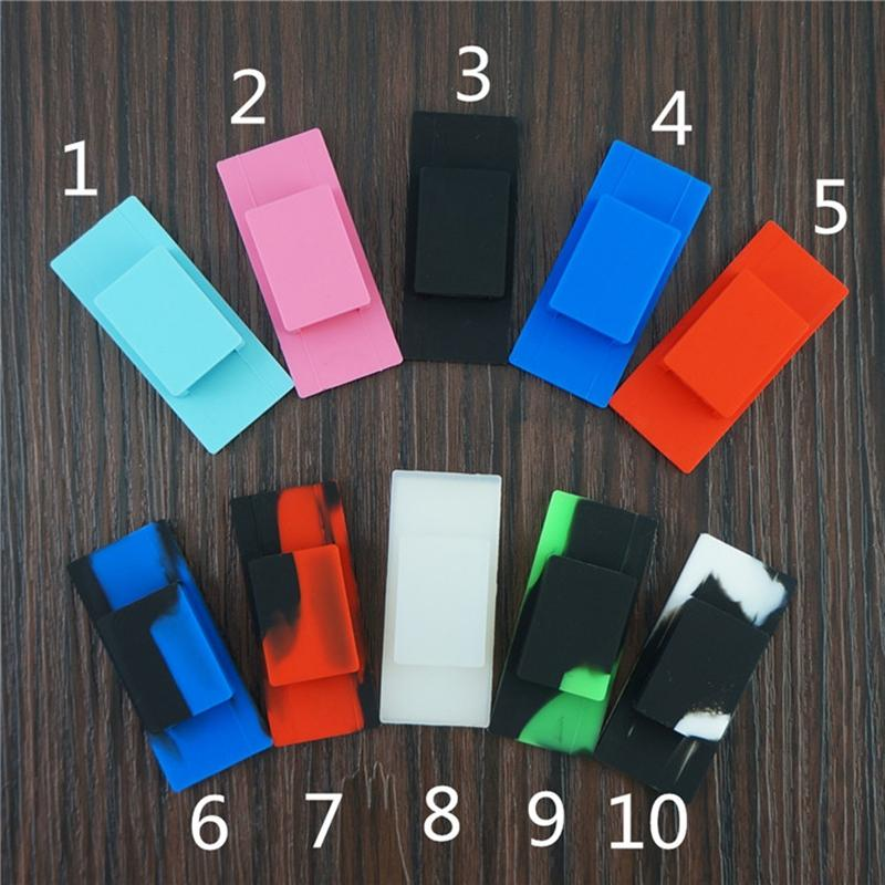 Newest Colorful Silicone Portable Mobile Phone Back Paste Protective Case Shell Casing Forjuul Vape Pen Pod Best High Quality Hot Cake DHL