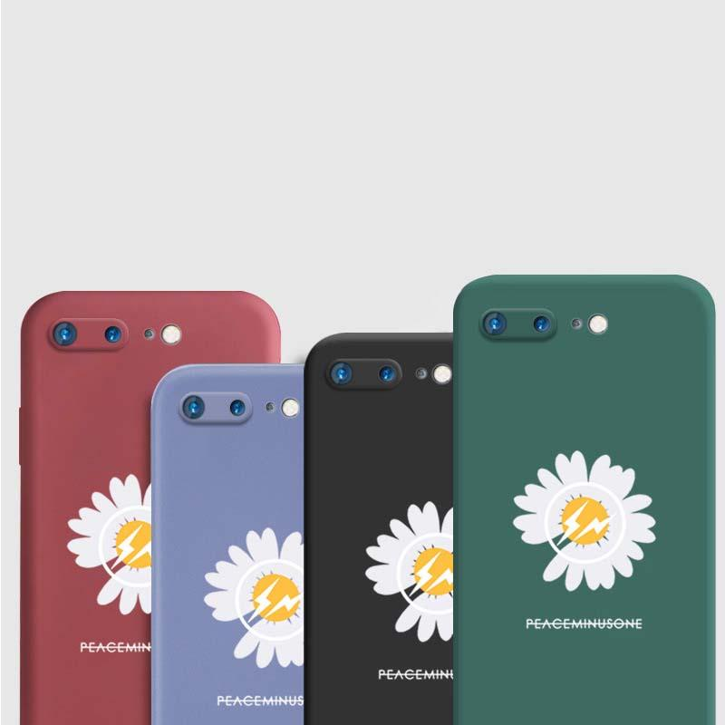 SiliconePhone Case for Iphone11 Pro Max XSMAX XR XS Iphone7P / 8P Iphone7 / 8 6P / 6SP cobertura completa Silicone Case telefone com película protetora