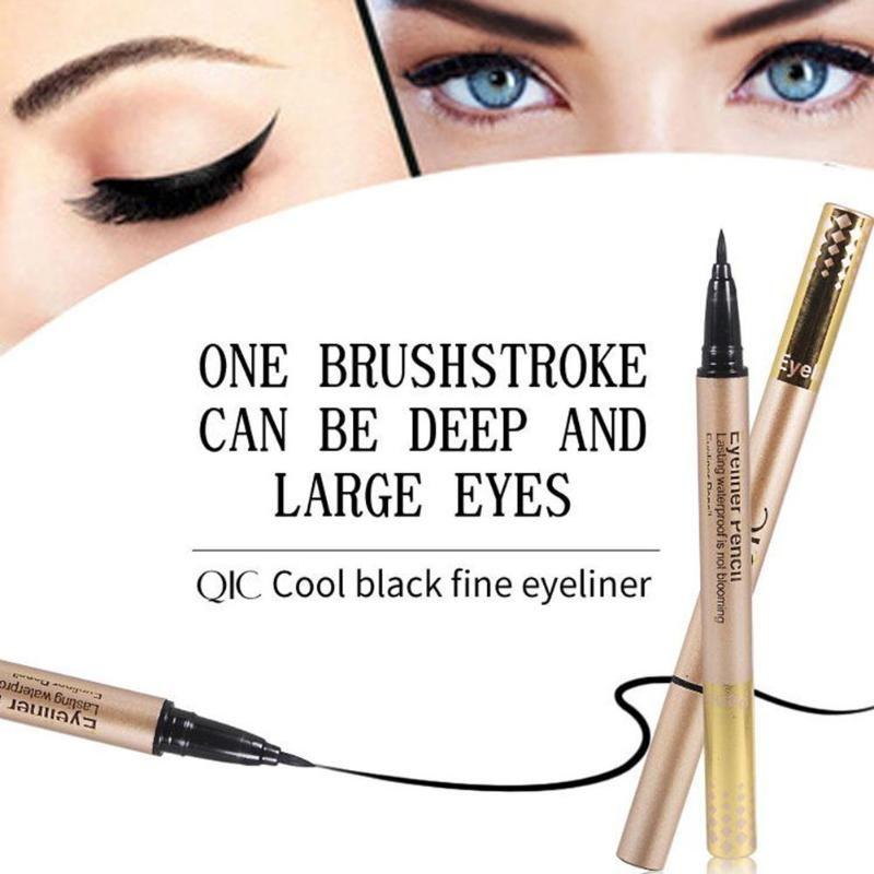 1PC Professional Quick Dry Eyeliner Pen Black Liquid Eyeliner Waterproof Long-Lasting Eye Liner Pen Makeup Cosmetics Pencil