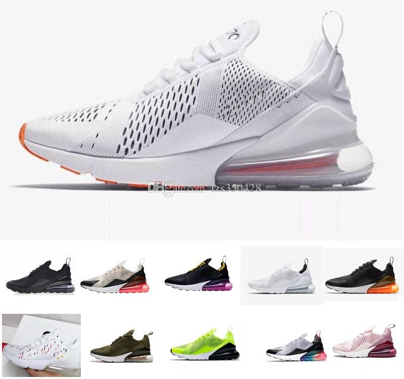 nike air max 270 France 2 stars trainers zapatos Running shoes casuales para mujeres y hombres Flair Top Quality Maxes Sports Outdoor Walking 27c Shoes Envío gratis AirMax 270