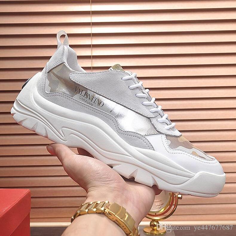 2019 yeni yüksek kalite erkek rahat ayakkabılar, deri ayakkabı, deri erkek düz ayakkabı kişiselleştirilmiş moda tasarımı ile, microstandard qk
