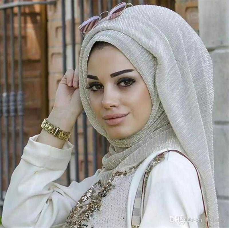 21 colores mujeres musulmanas Hijabs bufandas de moda 100 * 75 cm larga nueva mujer bufandas de algodón de lino bufanda Jersey chal musulmán Hijab