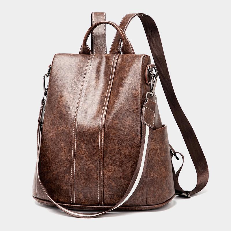 Vintage alta calidad del estilo de Europa América moda deportiva mochila bolso mochila de marca bolsos de hombro del ocio del diseñador bolsas de viaje