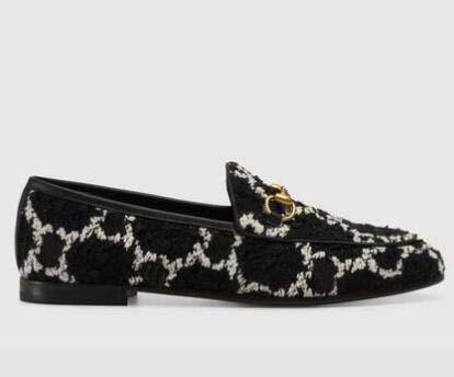 Luxe cuir mocassins Muller femmes Designer de mode chaussures avec boucle sandales femmes Mode Princetown Avslappnad Mulets FlatsG5