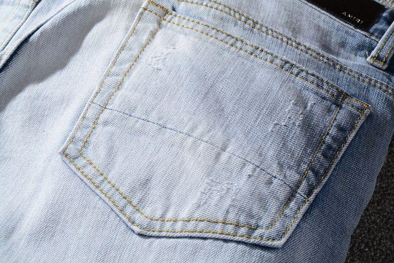 Acquista 2019 Jeans Da Uomo Jeans Da Motociclista Di Jeans Di Jeans Di Moda Fori Blu Moto Jeans Da Motociclista Da Uomo Pantaloni Di Jeans Pantaloni
