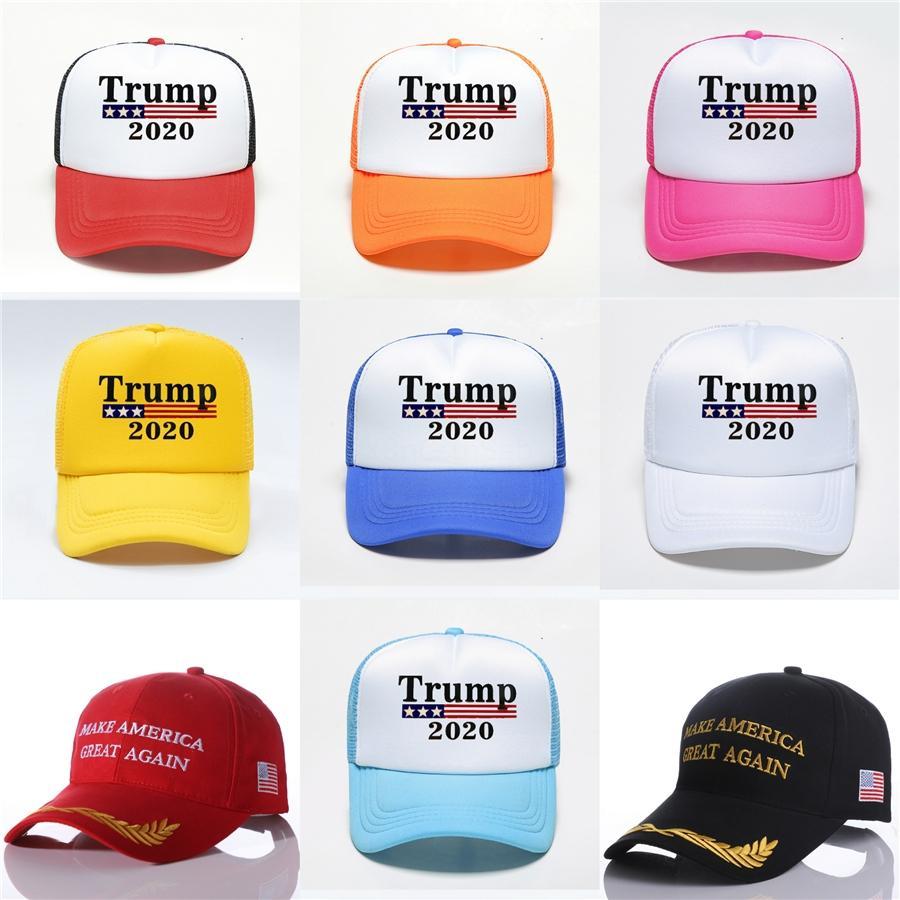 Cappello American Women Trump Baseball Cap Uomini E Protezione Usa Berretto da baseball Dome modello lettera ricamo artigianale # 604