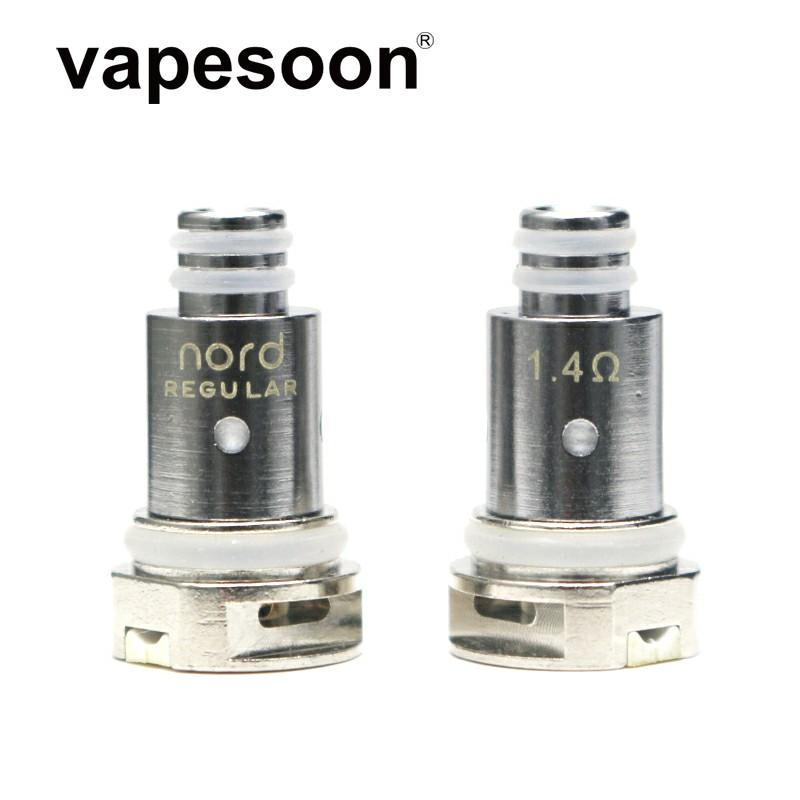 Replacement N-ord Coils Regular Ceramic 1.4ohm / Mesh 0.6ohm 0.8ohm Coil Head for N-ord Kit Electronic Cigarette