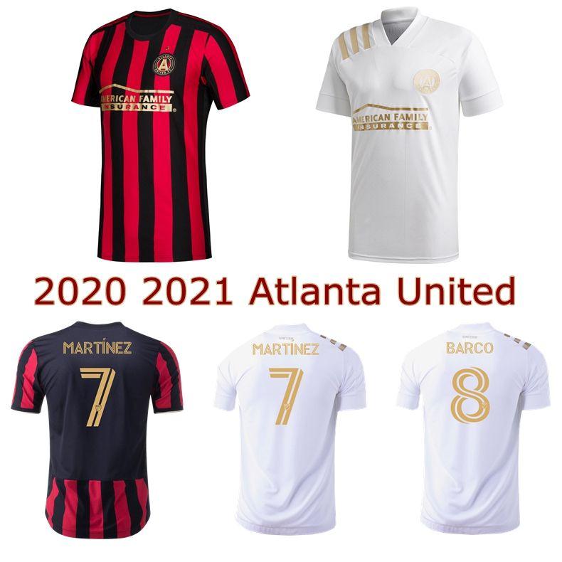 Acquista 2020 Atlanta United Soccer Jersey 20 21 Atlanta United FC Home Away Barco G.Martinez Villalba Camicie Da Calcio A 11,83 € Dal Wenxuan_0920   ...