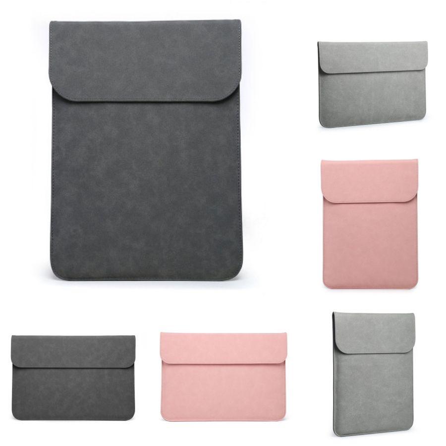 Mode-Laptop-Tasche Handtasche aus Leder für Frauen 13,3 14 15,4-Zoll-Schulter-Notebook-Tasche für Laptop Macbook Pro Case # 657