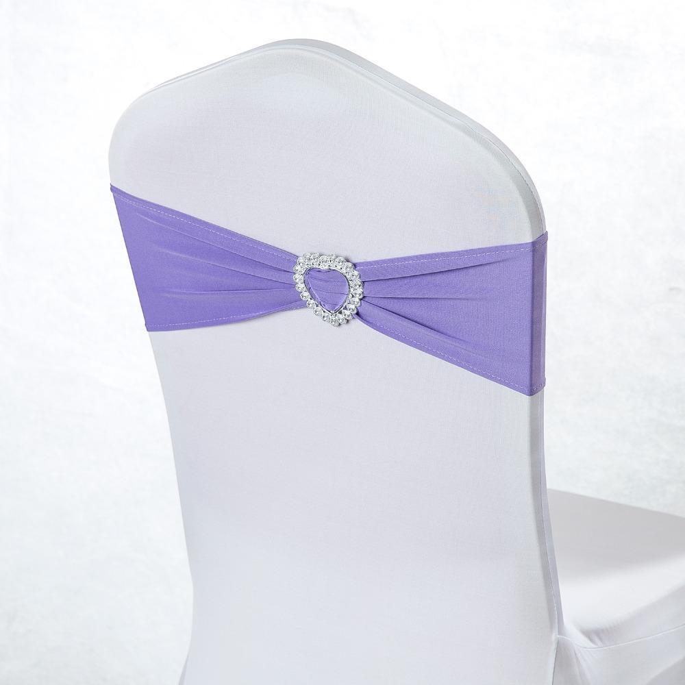 NOUVEAU président de mariage Spandex Jupettes Or Violet Rouge Orange Rose Vert Bleu Royal Président Sash avec le coeur Boucle
