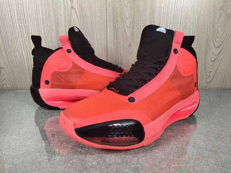 2020 Qualitäts-neue Jumpman XXXIV 34 Red Jayson Tatum Blau Void Weiß 34s Herren-Basketball-Schuhe mit Kasten Speicher-freie Verschiffen
