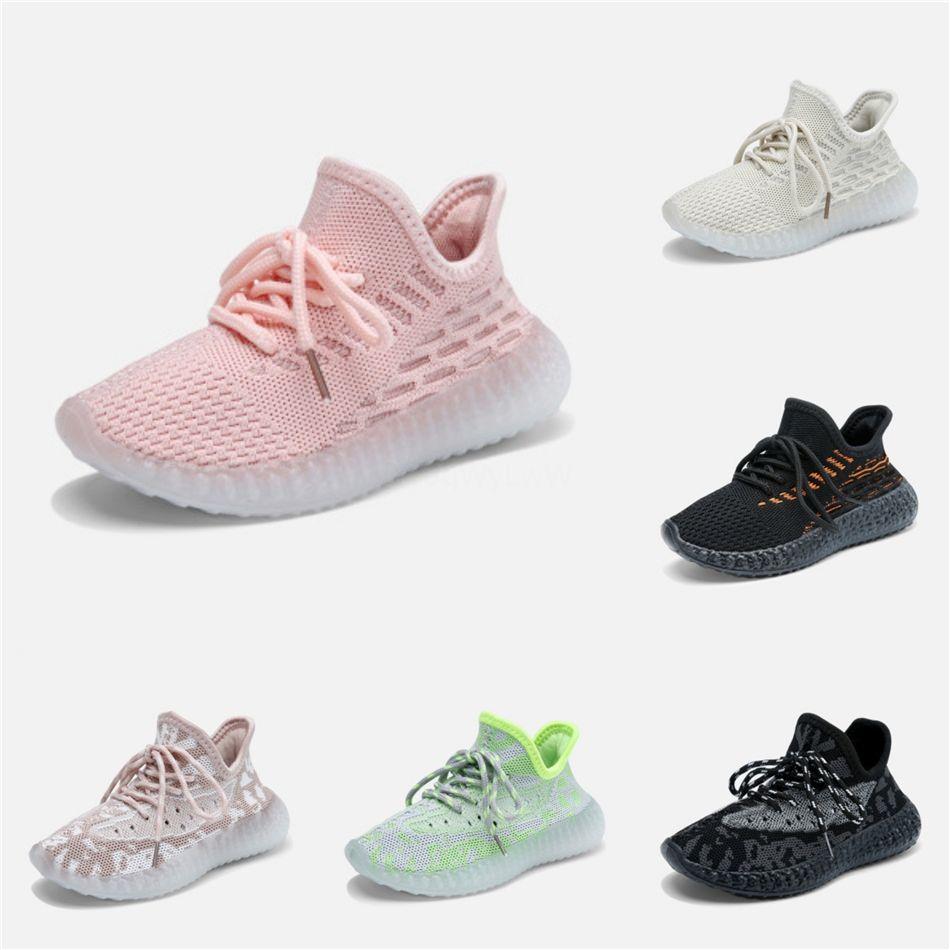 2020 Kanye West Bebek 380 V2 Bebek Çocuk Koşu Ayakkabı Statik Chaussure De Sport Enfant Boys Kız Casual Eğitmenler Sneakers dökün 28-35 # 911