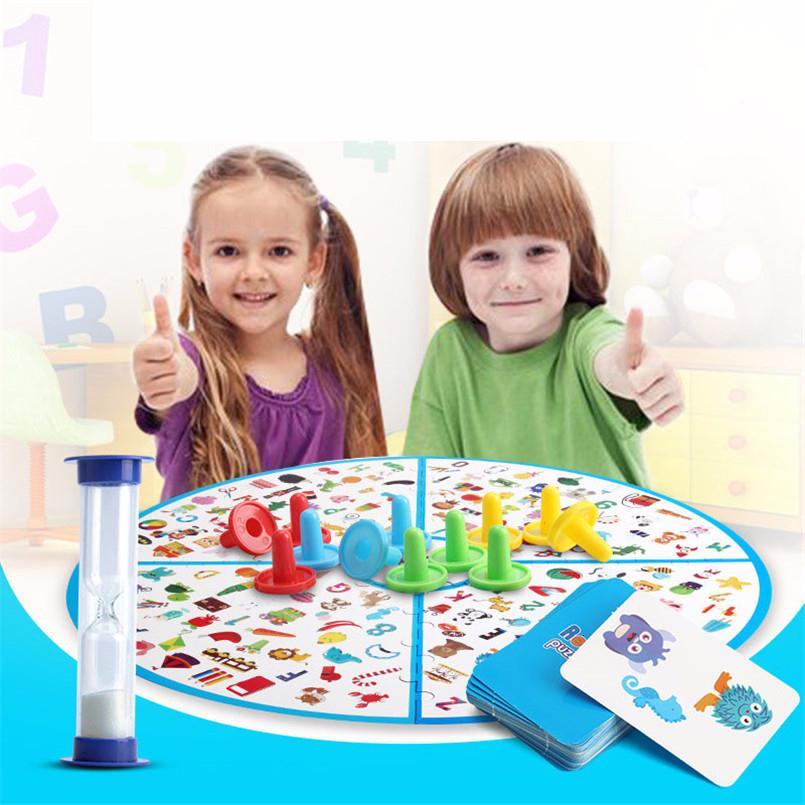 Çocuk Montessori Bulmaca Beyin Eğitim Oyunları Çocuklar Dedektifler Görünümlü Grafik Kurulu Oyunu Plastik Bulmaca Eğitici Oyuncaklar Hediyeler SH190911