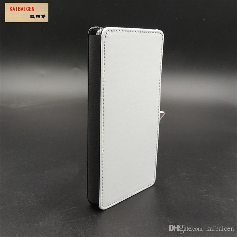 삼성 A6 / A6 플러스 승화 2D 가죽 PU 휴대 전화 케이스 휴대 전화 커버 들어