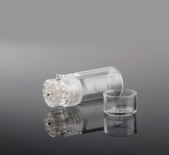 20 micro agujas de titanio Derma sello Rodillo Derma Con 0,25 mm 0,5 mm Longitud de la aguja microneedling sello para uso particular Clínica Uso