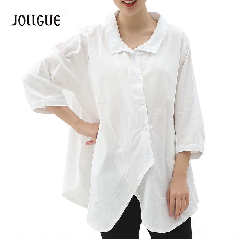 K4hGk 2020 printemps et en été style coréen court été shirtloose mi-manches revers balancer jupe chemise femme jupe chemise style simple A