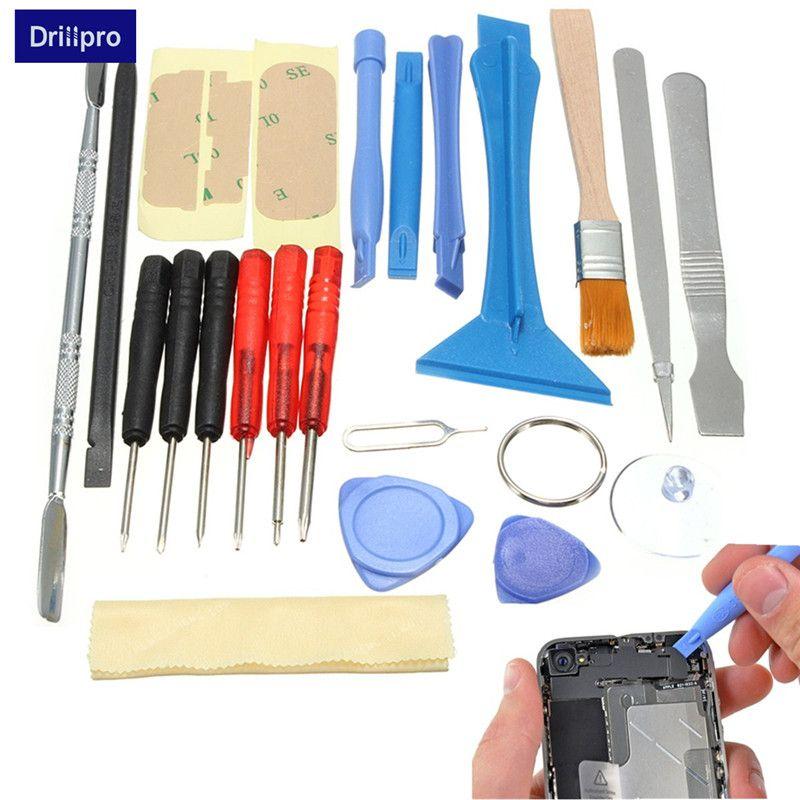 Kit de herramientas de reparación de palanca de apertura de teléfono móvil inteligente 22 en 1 Torx