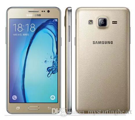Reacondicionado Original Samsung Galaxy On5 G5500 4G LTE 5.0 pulgadas QuadCore 1.5GB RAM 8GB ROM 8MP Dual SIM desbloqueado teléfonos celulares