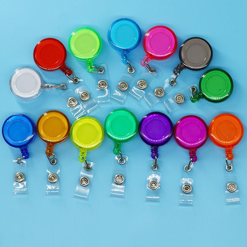 Lanyard for Key Beach Glass Retractable Card Badge Reel ID Reel Beach badge reel Retractable badge Reel Keycard Holder