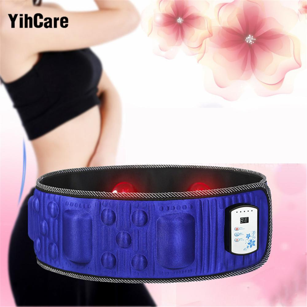 wholesale Electric Fitness Vibrating 18 Modes Body Massager Slimming Belt Infrared Heating Fat Burning Weight Loss Machine 5 Times