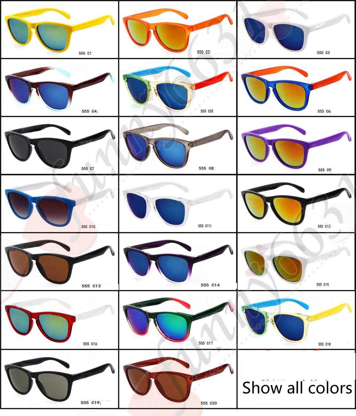 FREESHIP جديد 18 نماذج رجل نوعية جيدة أفضل بارد لطيف رياضة ركوب الدراجات نظارات دراجة دراجة نارية الرجال أزياء النظارات الشمسية كامل اللون