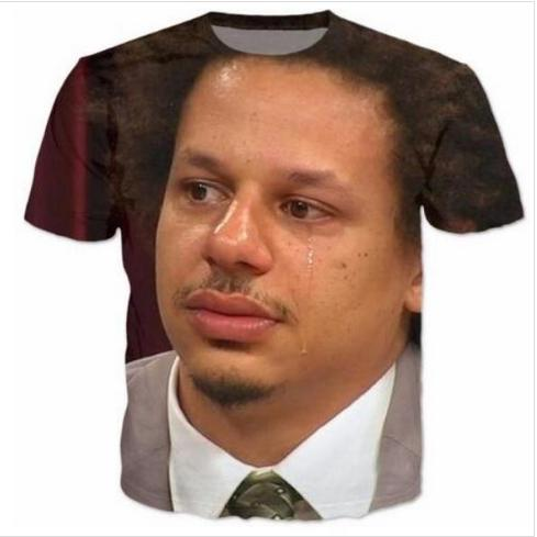 Casual Uomo Womans Eric Andre 3D HD Stampa T-shirt Estate a maniche corte T-shirt O-Collo Stile di modo Unisex Shirt Marca Tees RX08