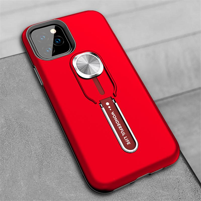 Case for Iphone 11 Pro Max TPU Phone Case for Iphone11/11pro IphoneXR XS XSMAX 7P/8P 7/8 6P/6sP 6/6s Back Cover with Ring Bracket Wholesale1