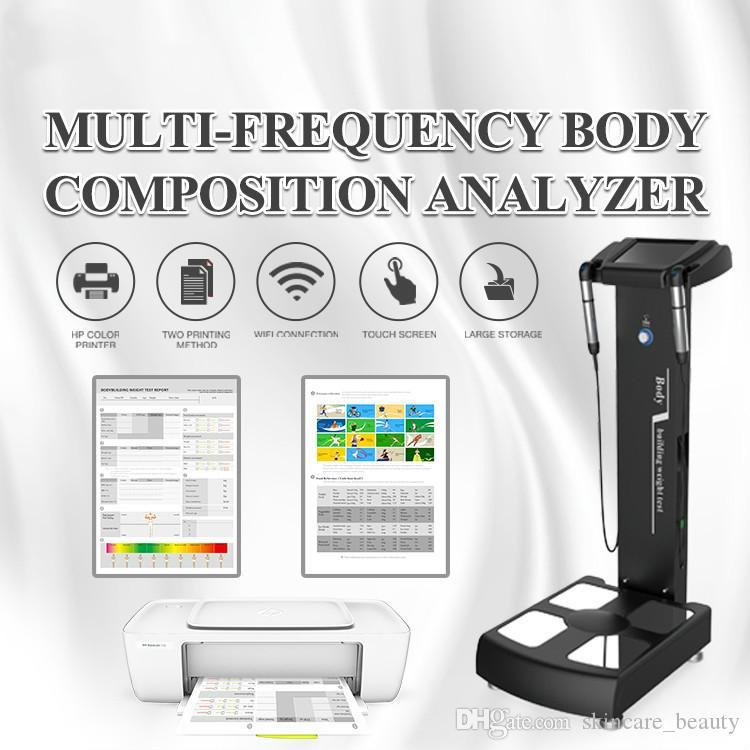 효과적인 디지털 체성분 분석기 지방 시험 기계 건강 분석 장치 바이오 임피던스 아름다움 장비 체중 감량 피트니스 체육관