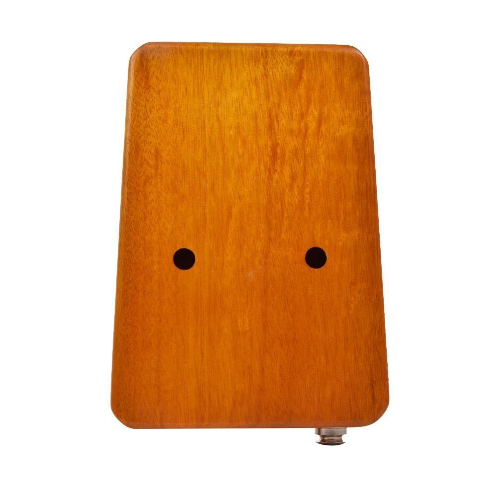 17 keys EQ Gecko Kalimba Mahogany Thumb Single Board Piano Calimba Professional Finger Piano with Electric Pickup Tuner Hammer