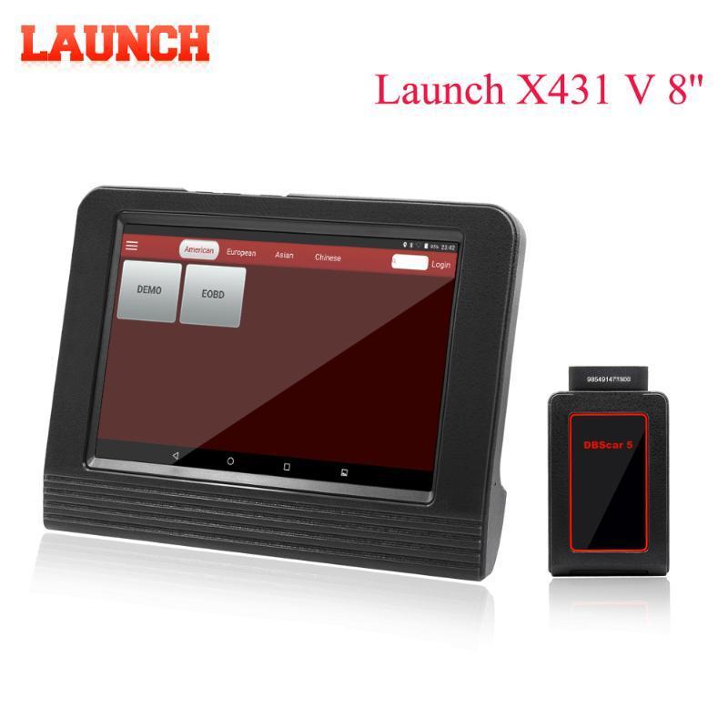"""온라인 X431 V 프로 미니 OBD2 스캐너 업데이트를 코딩 V 8 """"X431 블루투스 / 와이파이 자동차 전체 시스템 진단 도구 ECU"""