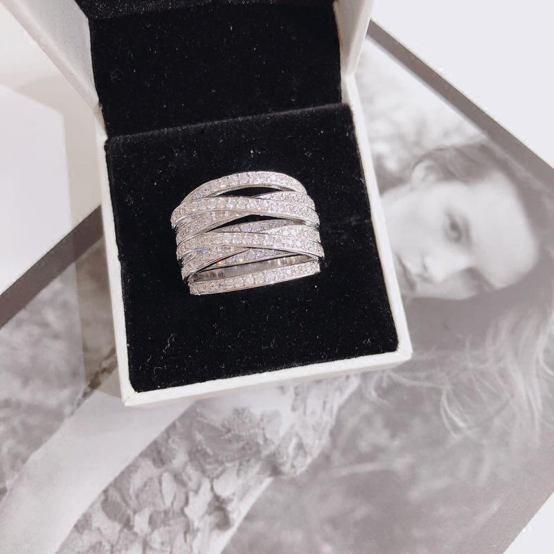 S925 Sterling Sliver VVS1 2 s Diamant-Ringe für Frauen Stempel 925 Anillos Bizuteria Edelstein-Silber 925 Schmuck-Diamant-Ring