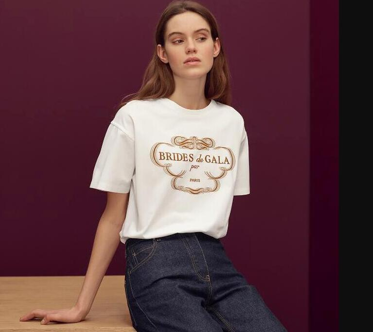 20SS Paris Clothing Hot Brand Mens Women T Shirt Luxury Designer Tshirts With Letters Summer Casual Mens Tops Tee Shirts