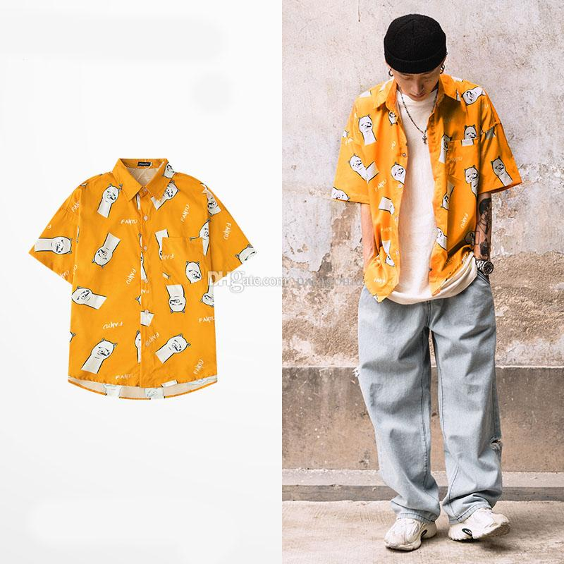 New Fashion Mens Casual Shirts Comfortable Men Short Sleeves High Quality Men Womens Casual Shirts