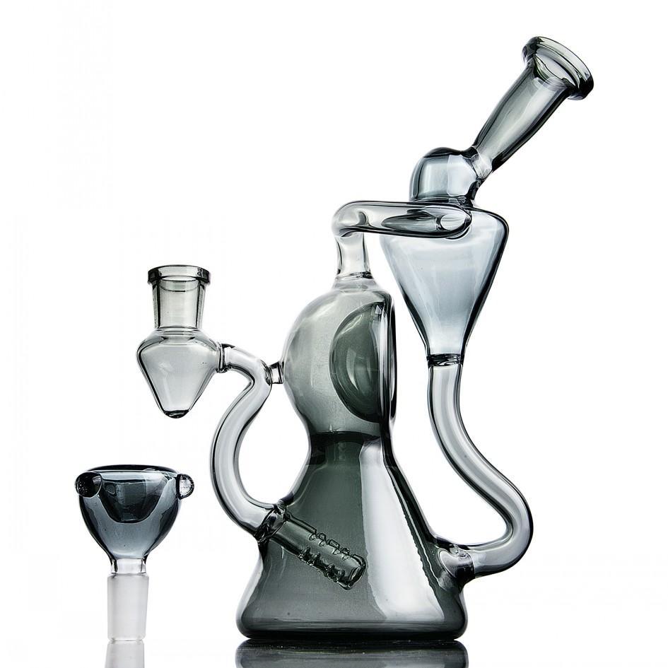 8.8 inchs Einzigartige Bong Heady Glas Dab Rigs Rauchen Glaspfeifen Beaker Basis Bongs Shishas Shisha Mit 14mm Bowl